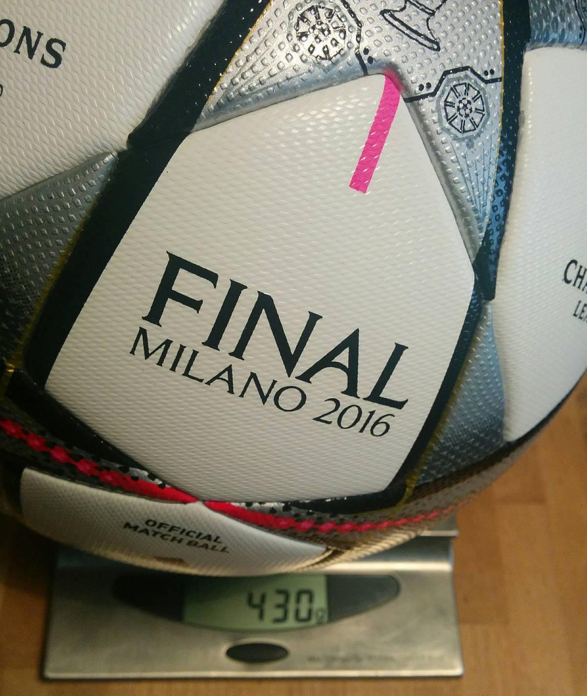 Adidas Finale 2016 Milano