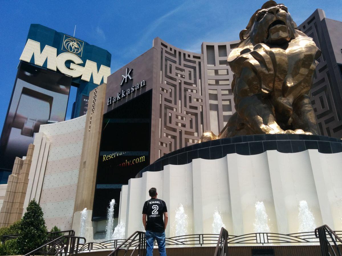 Sambakicker in Vegas